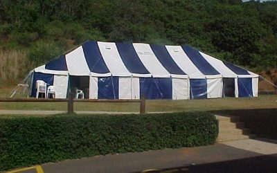 Cargo Tarp and Net Frame Tents