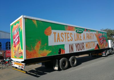 Frimax Digital Printed Truck Trailer Right View